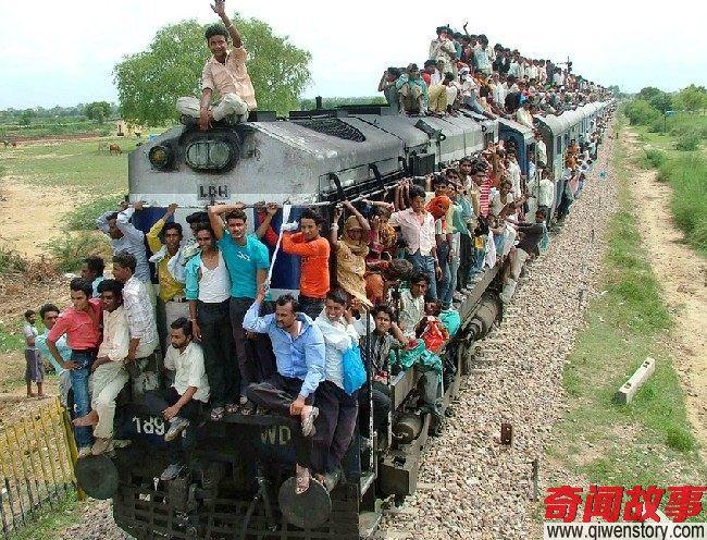 到印度旅游 看到这些画面赶紧买机票回来